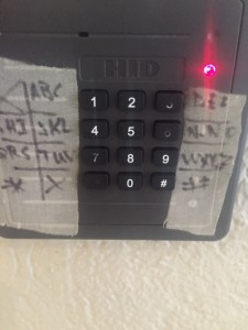 A real gate keypad at a gov building I frequent. So sad. So true.