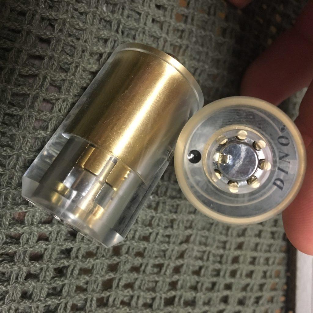 Acrylic Tubular Lock Trainer
