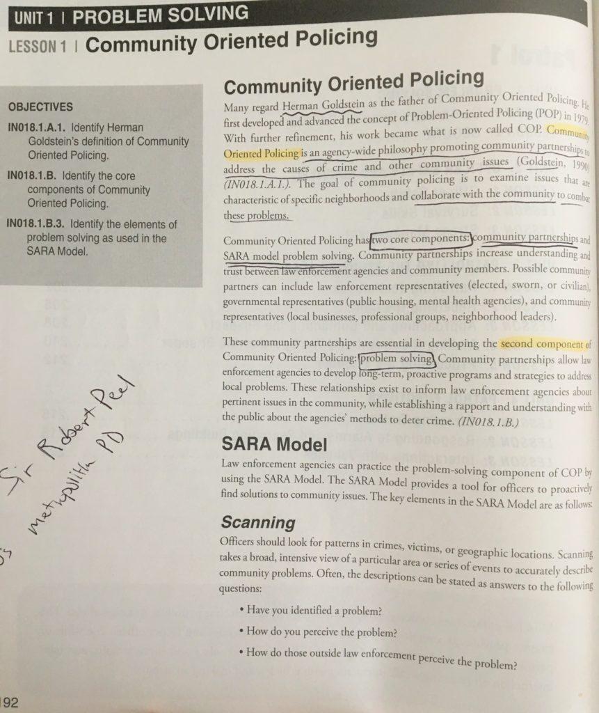 sara model problem solving