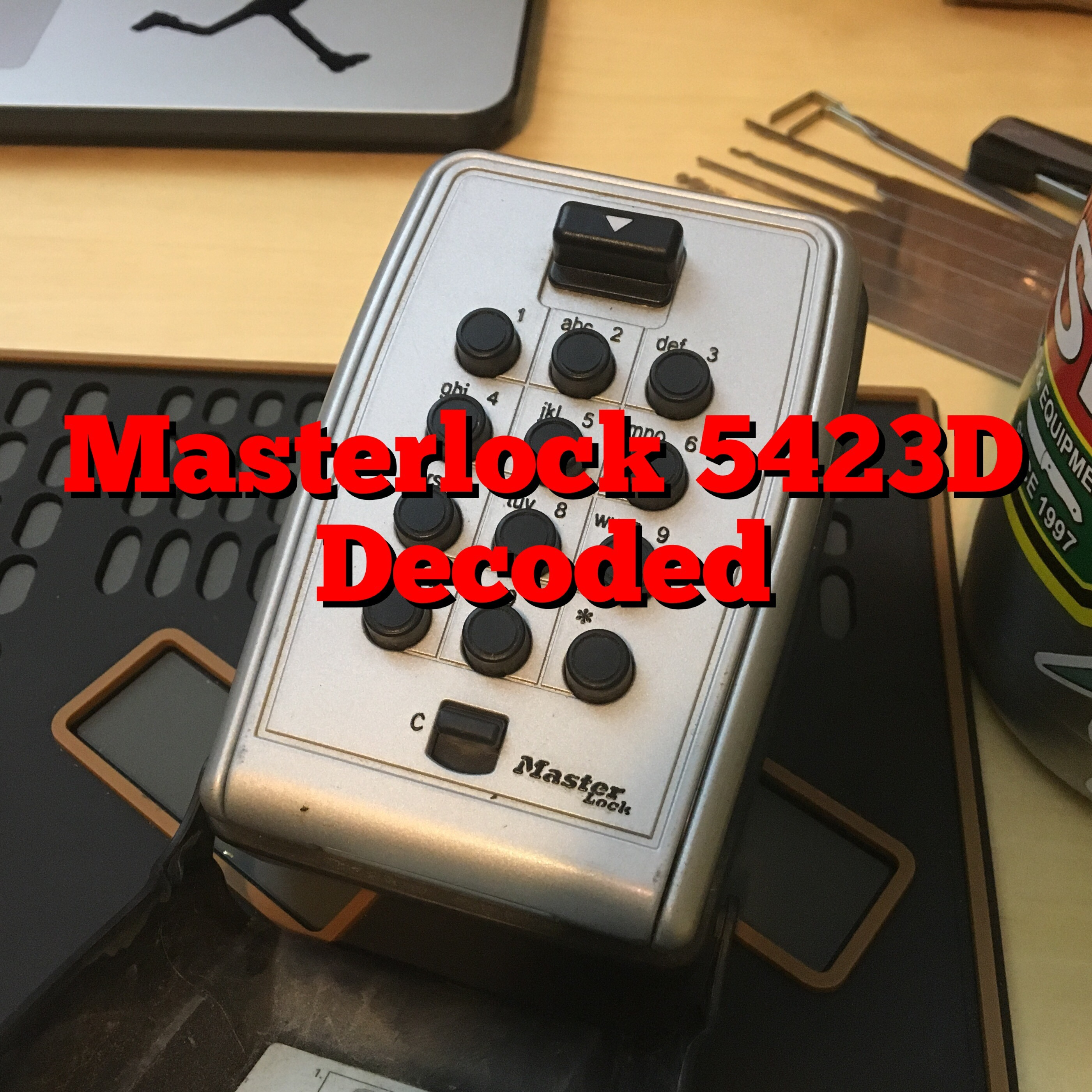 Master Lock 5423D
